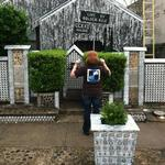 Beer can house in Houston, TX.  Beer RUN!!